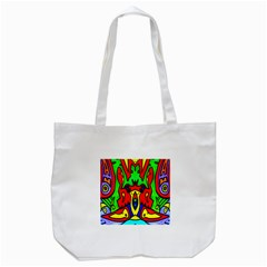 Heads Up Tote Bag (white)