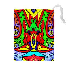 Heads Up Drawstring Pouches (extra Large)