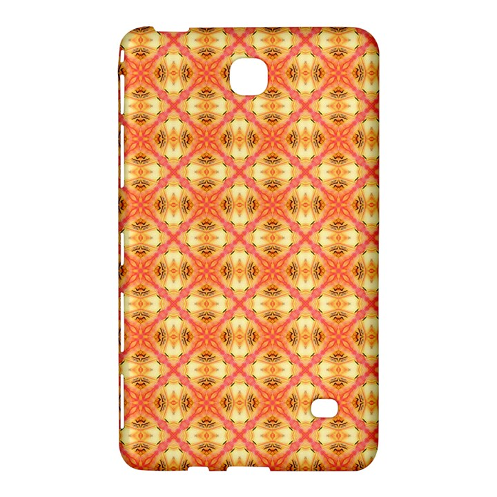 Peach Pineapple Abstract Circles Arches Samsung Galaxy Tab 4 (7 ) Hardshell Case