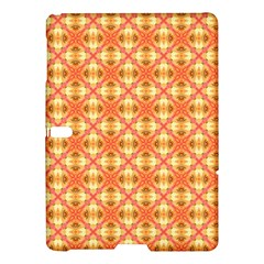 Peach Pineapple Abstract Circles Arches Samsung Galaxy Tab S (10 5 ) Hardshell Case