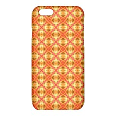 Peach Pineapple Abstract Circles Arches iPhone 6/6S TPU Case