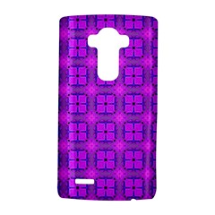 Abstract Dancing Diamonds Purple Violet LG G4 Hardshell Case