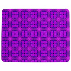 Abstract Dancing Diamonds Purple Violet Jigsaw Puzzle Photo Stand (Rectangular)