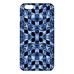 Indigo Check Ornate Print Iphone 6 Plus/6s Plus Tpu Case