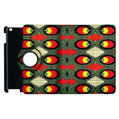 Black Star Apple Ipad 3/4 Flip 360 Case
