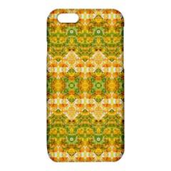 Boho Stylized Floral Stripes iPhone 6/6S TPU Case