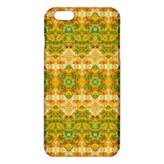 Boho Stylized Floral Stripes iPhone 6 Plus/6S Plus TPU Case