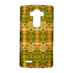 Boho Stylized Floral Stripes LG G4 Hardshell Case