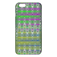 Colorful Zigzag Pattern Iphone 6 Plus/6s Plus Tpu Case