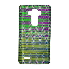 Colorful Zigzag Pattern LG G4 Hardshell Case