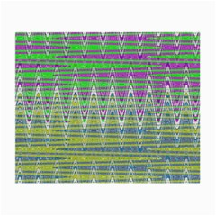 Colorful Zigzag Pattern Small Glasses Cloth (2 Side)