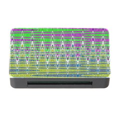Colorful Zigzag Pattern Memory Card Reader With Cf