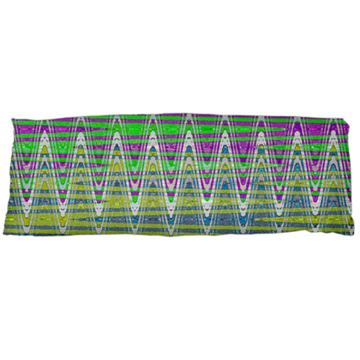 Colorful Zigzag Pattern Body Pillow Case (Dakimakura)
