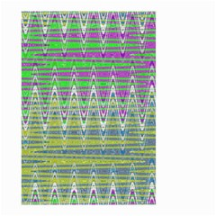 Colorful Zigzag Pattern Small Garden Flag (two Sides)