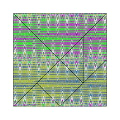 Colorful Zigzag Pattern Acrylic Tangram Puzzle (6  X 6 )