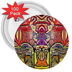 Last Of 3  Buttons (100 Pack)