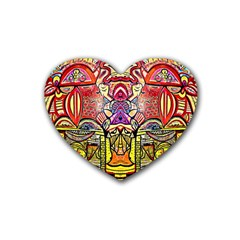 Last Of Heart Coaster (4 Pack)