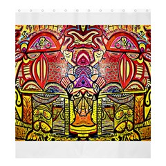 Last Of Shower Curtain 66  X 72  (large)