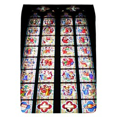 Stained Glass Church Window In Cologne Cathedral Removable Flap Cover (small)