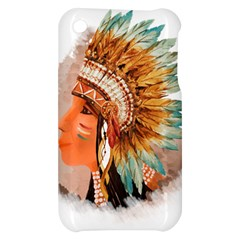 Native American Young Indian Shief Apple iPhone 3G/3GS Hardshell Case