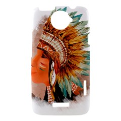 Native American Young Indian Shief HTC One X Hardshell Case
