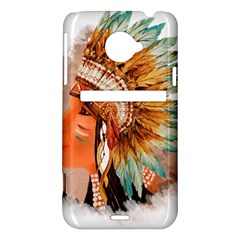 Native American Young Indian Shief HTC Evo 4G LTE Hardshell Case