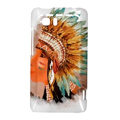 Native American Young Indian Shief HTC Vivid / Raider 4G Hardshell Case