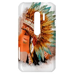 Native American Young Indian Shief HTC Evo 3D Hardshell Case