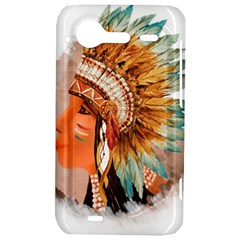 Native American Young Indian Shief HTC Incredible S Hardshell Case