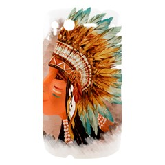 Native American Young Indian Shief HTC Desire S Hardshell Case