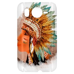 Native American Young Indian Shief HTC Desire HD Hardshell Case