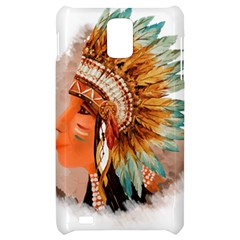 Native American Young Indian Shief Samsung Infuse 4G Hardshell Case