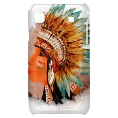 Native American Young Indian Shief Samsung Galaxy S i9000 Hardshell Case