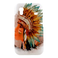 Native American Young Indian Shief Samsung Galaxy Ace S5830 Hardshell Case