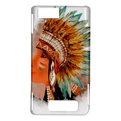 Native American Young Indian Shief Motorola DROID X2