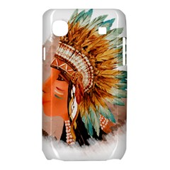 Native American Young Indian Shief Samsung Galaxy SL i9003 Hardshell Case