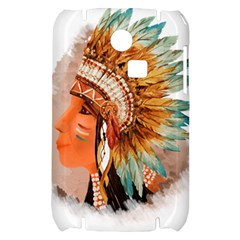Native American Young Indian Shief Samsung S3350 Hardshell Case