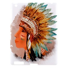Native American Young Indian Shief Apple iPad 3/4 Hardshell Case