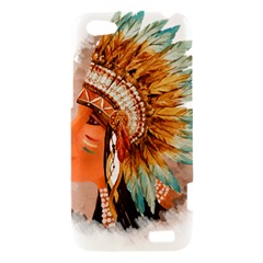 Native American Young Indian Shief HTC One V Hardshell Case