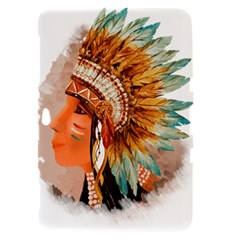 Native American Young Indian Shief Samsung Galaxy Tab 8.9  P7300 Hardshell Case