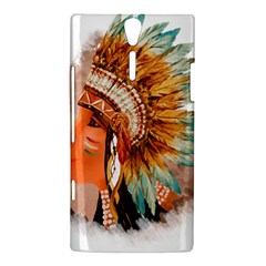 Native American Young Indian Shief Sony Xperia S