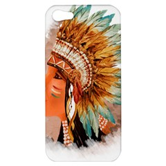 Native American Young Indian Shief Apple iPhone 5 Hardshell Case