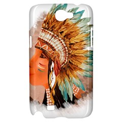 Native American Young Indian Shief Samsung Galaxy Note 2 Hardshell Case