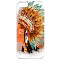 Native American Young Indian Shief Apple iPhone 5 Classic Hardshell Case