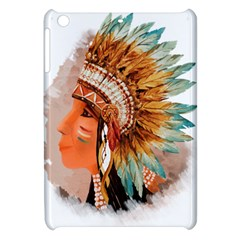 Native American Young Indian Shief Apple iPad Mini Hardshell Case
