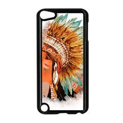 Native American Young Indian Shief Apple iPod Touch 5 Case (Black)