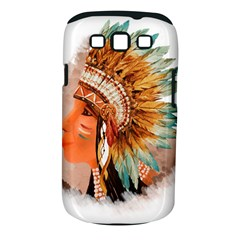 Native American Young Indian Shief Samsung Galaxy S Iii Classic Hardshell Case (pc+silicone)