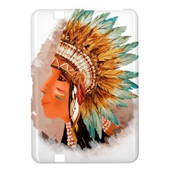 Native American Young Indian Shief Kindle Fire Hd 8 9