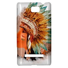 Native American Young Indian Shief HTC 8S Hardshell Case