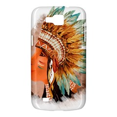 Native American Young Indian Shief Samsung Galaxy Premier I9260 Hardshell Case